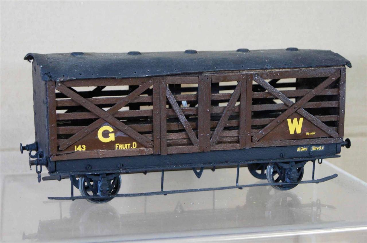 G G1 GAUGE 1 KIT BOILT GW GWR SIPHON D 4 WIEL FRUIT auto 143 NICE ei