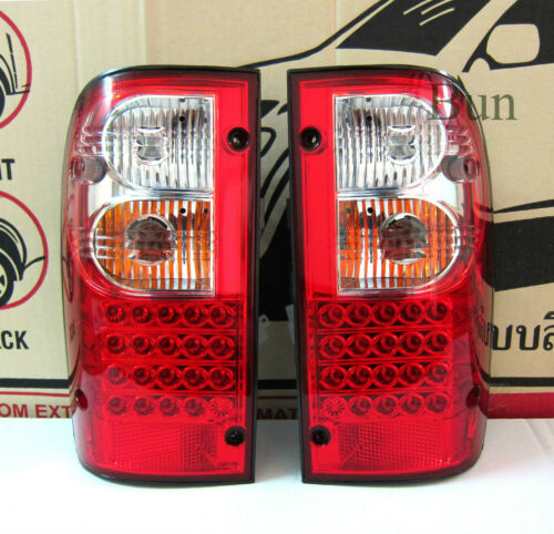 LED REAR LIGHT TAIL LAMP RED LEN FOR TOYOTA HILUX 1998 1999 2000 2001 2002 03 04