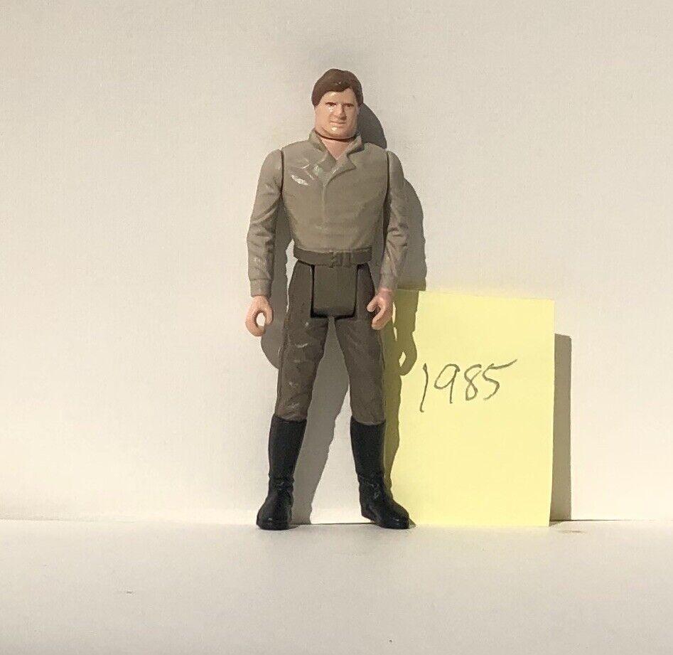 1984 Jahr Stern Wars Han Solo voiturebonite Last 17 POTF Wirkung Figure Original