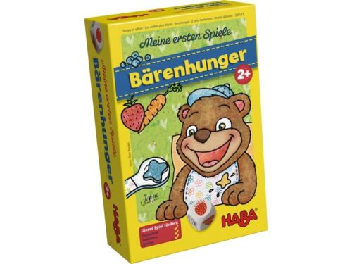 HABA Meine ersten Spiele  Bärenhunger Spiel 300171 NEU