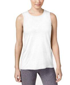 e0602dd3 New Women's Calvin Klein Performance Epic Knit Muscle Tank Top White ...