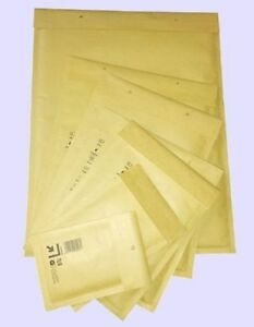 Wagener Verpackung 120x215 mm Sobres Acolchados 200 - Marrón