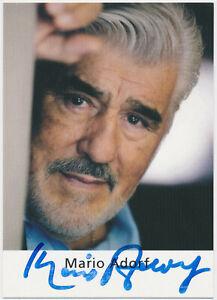 Mario-Adorf-hand-signed-Autograph-Autogramm-Autogrammkarte