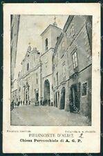Caserta Piedimonte Matese d'Alife cartolina XB3777