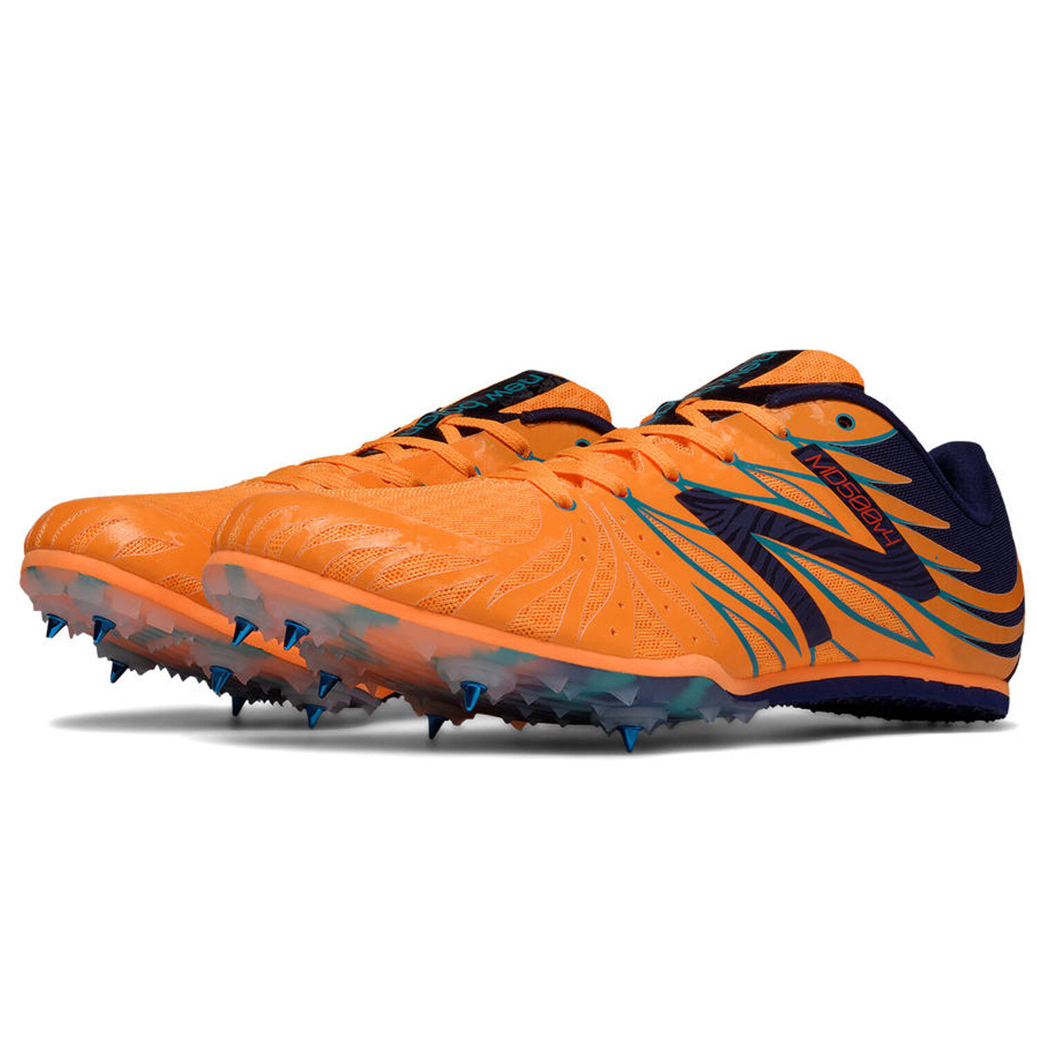 brand new bcc31 2d1b9 NEW New Balance MMD500O4 Distance Running Shoes Orange Men Size Size Size  14 D 68496e