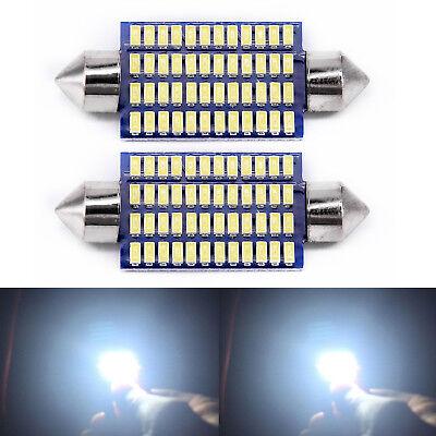 Interior Lights Super White 3014-48SMD 578 211-2 212-2 LED Bulb 1 Pair Useful
