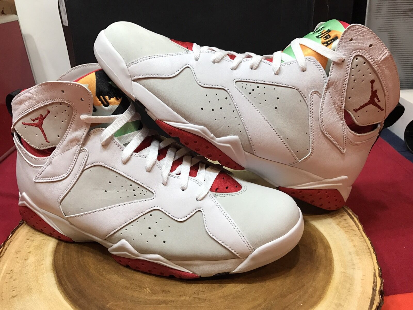 Nike Air Jordan Retro VII Hare Bugs Bunny Size 15 VI IV V VIII Carmine Alternate