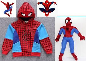 Boys-Spiderman-Hoodie-Top-Marvel-Superhero-and-Soft-plush-Toy-15inch-38cm-Large