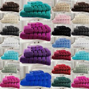 Luxury 100% Egyptian Cotton Towels Hand Bath Towel Sheet Satin Stripe 500 GSM