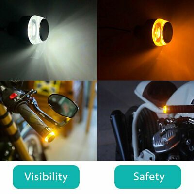 Bicycle Handlebar Lights Clean Look with fully capable blinker feature