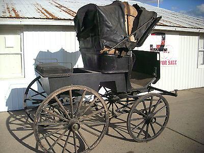 Horse Drawn Stanhope Phaeton Carriage Wagon Buggy Sleigh Cart Antique