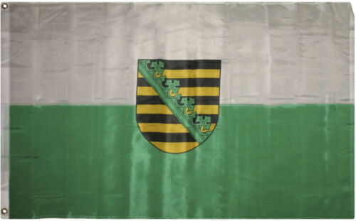 3x5 Saxony Sachsen Bundeslnder German State Saxon Germany Flag 3/'x5/' Banner