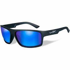 40008a4158b Wiley X Ssmox09 Moxy M l Gloss Black Frame Polarized Blue Mirror ...