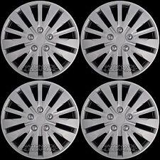 "15"" Set of 4 Wheel Covers Full Rim Snap On Hub Caps fit R15 Tire & Steel Wheels"