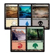 MTG Magic the Gathering Basic Land - 40 of Each Colour - 200 Land
