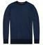 Superdry Men/'s Orange Label Cotton Crew Knit Jumper Dark Navy Birdseye S-XXXL