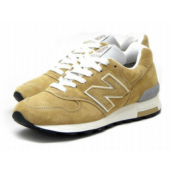 New Balance Homme M1400BE Classic Running Sneakers Khaki/Blanc Made in USA