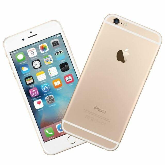 Smartphone Apple Iphone 6 64Gb Débloqué Usine Reconditionné Tél Mobile IOS Or Fr