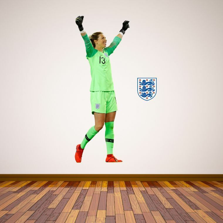 England FA Carly Telford Adesivo Parete Giocatore Football Decalcomania Vinile Murale