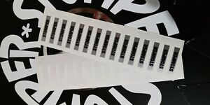 2-New-Silver-Black-Stomper-4x4-Truck-Windshield-Decal-Sticker-see-description