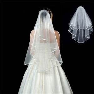 00bb2eb261d Short Bridal Veil Wedding Bachelorette Party Hen Night Bridal Shower ...