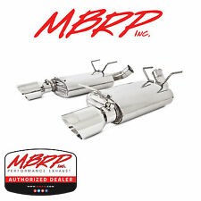 MBRP S7242AL DUAL MUFFLER AXLE BACK EXHAUST KIT 2011-2014 FORD MUSTANG V6