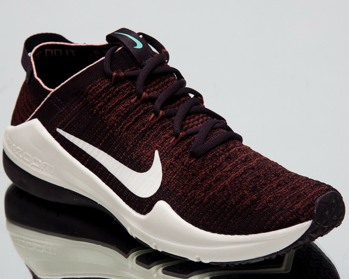 Nike Wouomo Air Zoom Fearless Flyknit 2 Training scarpe Burgundy Ash AA1214-622