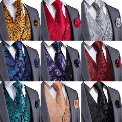 Z-P Mens Neckties Black Gorgeous Pocket Square Cufflinks Silk Tie Set