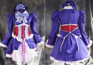 a-141 HITMAN REBORN CHROME DOKURO Cosplay LOLITA costume dress Kleid nach Maß