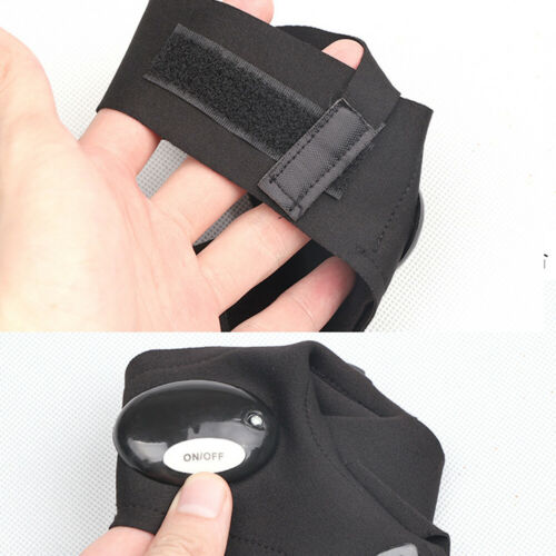 Finger Gloves with LED Light Flashlight Torch Outdoor Rescue Night Fishing Cool