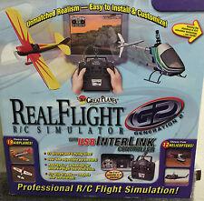 GREAT PLANES REAL FLIGHT R/C SIMULATOR-PROFESSIONAL REAL FLIGHT SIMULATION-NEW!!