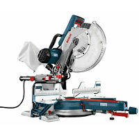 12 Dual Bevel Compound Miter Saw Bosch Tools Cm12sd on Sale