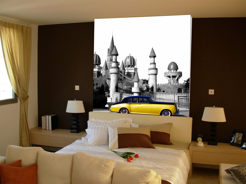 3D Minaret Building Paper Wall Print Wall Decal Wall Deco Indoor Murals