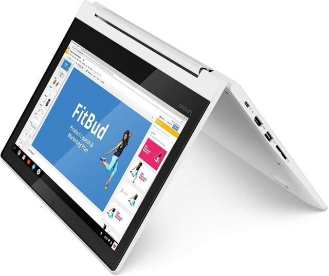 "Lenovo Chromebook C330 2-in-1 11.6"" HD MT8173C 4 64 GB eMMC 81HY0000US White"