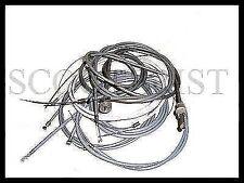 Vespa Throttle Gear Speedo Brake Control Cable Kit VBB VNB Super 125 150 Sprint