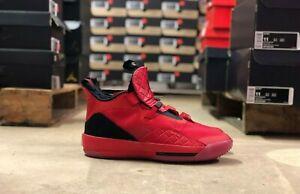 Nike-Air-Jordan-XXXIII-33-Mens-Basketball-Shoes-Red-Black-AQ8830-600-NEW-All-Szs