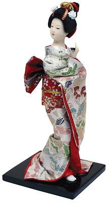Kimono Traditional Japanese Figure Doll 230mm No.3 from JAPAN