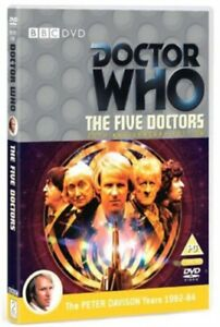 Neuf-Doctor-Who-The-Five-Doctors-Edition-Anniversaire-DVD