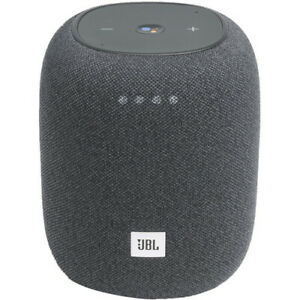 JBL Link Music Compact Home Smart Speaker with WiFi & Bluetooth - Gray