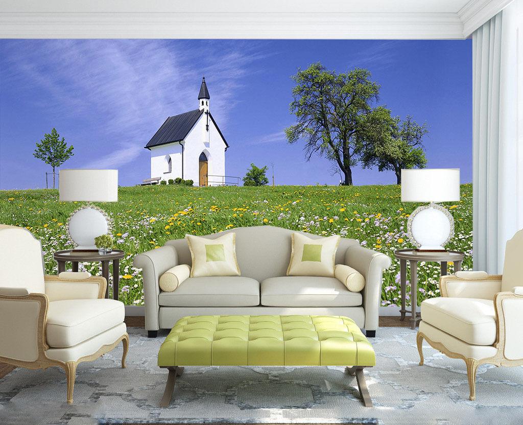 3D Meinem Haus 3444 Fototapeten Wandbild Fototapete BildTapete Familie DE