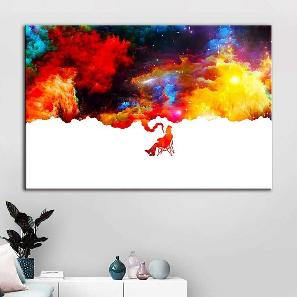 ABSTRACT MAN WALL ART Canvas  Painting Prints 1 Piece Hot Sale