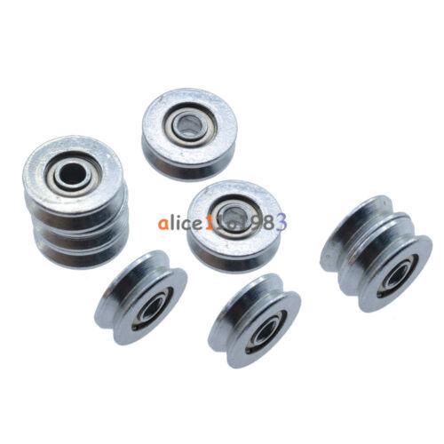 10PCS V623ZZ Skateboard Bearing Miniature Bearing V-groove bearings 3*12*4mm