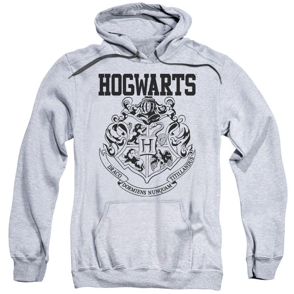 Harry Potter Hogwarts Athletic Pullover Hoodies for Men or Kids