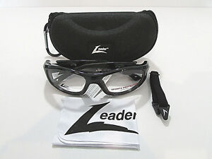 460488563cf Image is loading Hilco-Leader-Rx-Sport-Goggles-C2-Black-Eyeglasses-