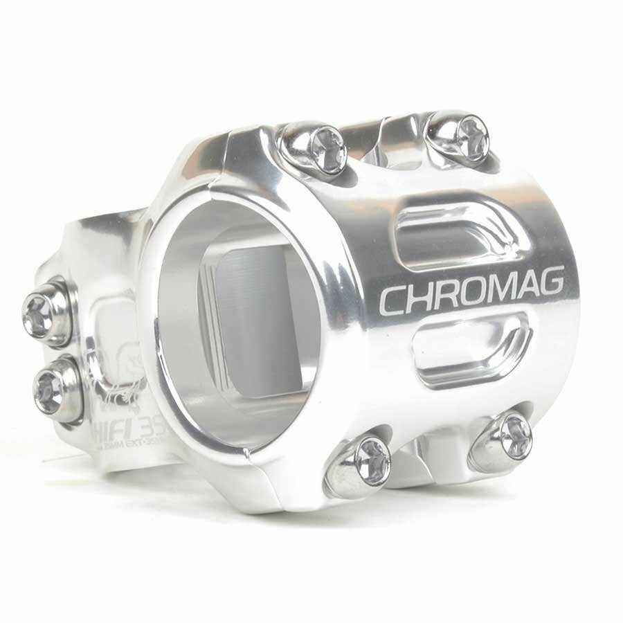Chromag Hifi Vorbau 1-1 8'' L 50mm 0 Durchmesser  35mm Silber