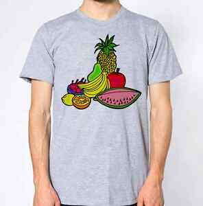 Fruit and vegetables t shirt graphic design pineapple for Graphic design t shirts uk