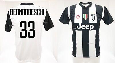 buy online 3e7f6 1afa8 Shirt Bernardeschi Juventus 2019 Official Product New 2018 2019 Federico |  eBay