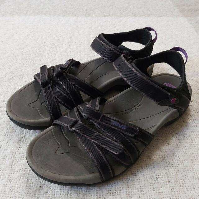 Teva Women's Tirra 4266 Sport Sandals Hiking Water Shoes US Size 8.5 Black