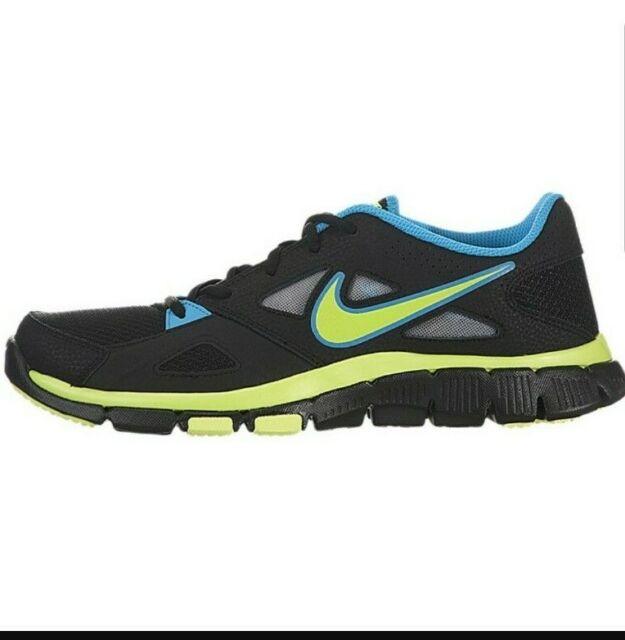 Estereotipo Mentor usuario  Nike Flex Supreme Tr 2 Men's 7.5 Black Blue Volt Running Sneakers  599558-004 for sale online