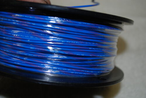 MIL-SPEC M22759//43-16-67 SILVER PLATED WIRE 16 AWG  500 FEET BLUE VIOLET STRIPE